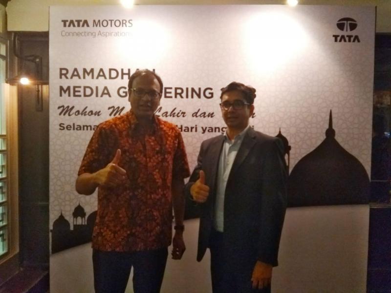 Manajemen Tata Motors Indonesia punya semangat baru menggelorakan pasar komersial. (foto: anto)