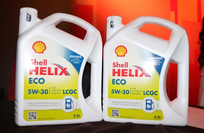 Pelumas Shell Helix Eco khusus untuk LCGC, diracik di Indonesia dan pertama di dunia