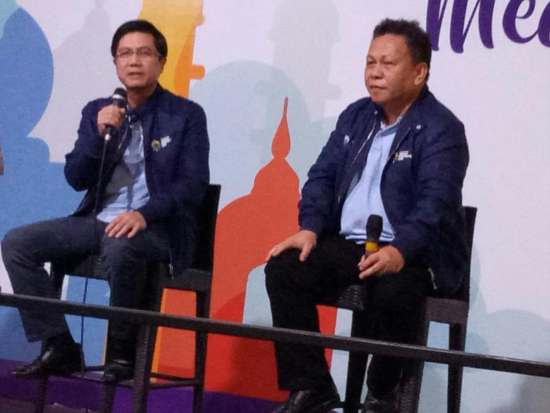 Henry Tanoto dan Edward Kanter, komitmen sukseskan Asian Games. (foto : budsan)