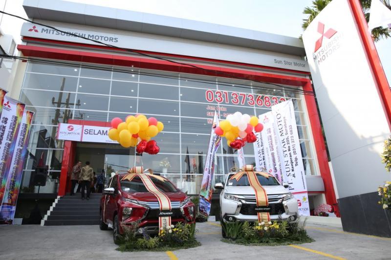 Dealer baru di Kenjeran, Surabaya ini jadi cabang Mitsubishi ke-116. (foto: ist)