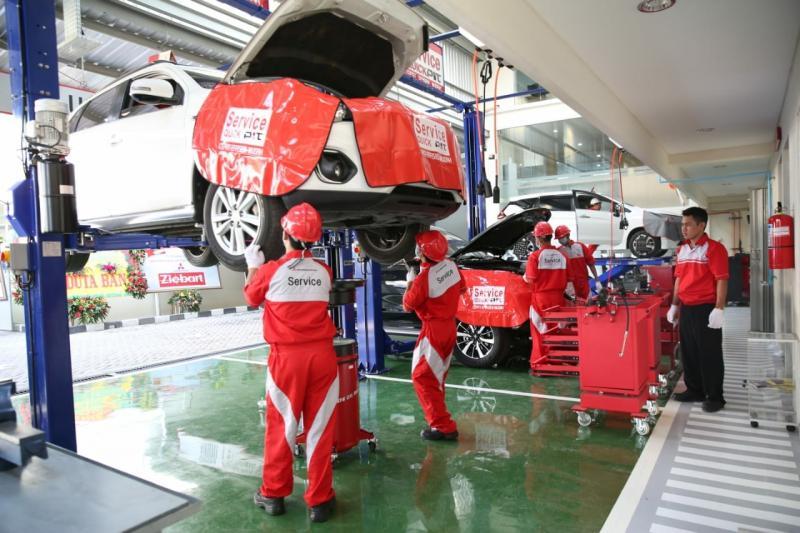 Fasilitas Dealer baru Mitsubishi lebih komplit. (foto: ist)