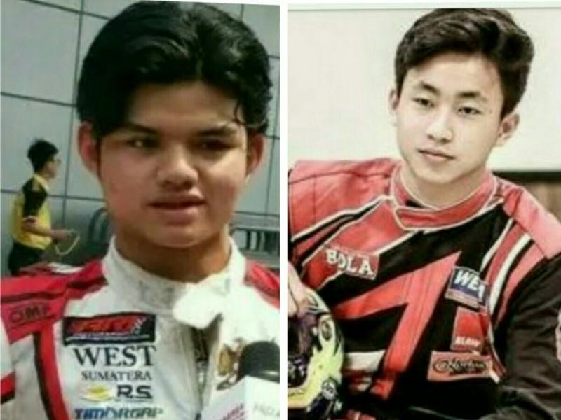 Keanon Santoso (kiri) dan Perdana Putra Minang, berharap hasil terbaik. (foto : ist)