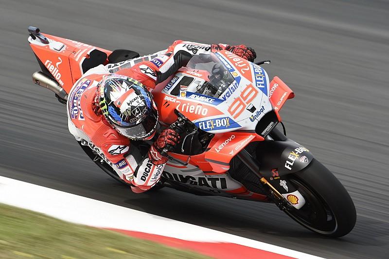 Lorenzo sabet pole pertamanya bersama Ducati di MotoGP Catalunya (ist)