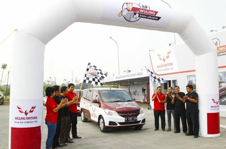 Perdana adakan Layanan Mudik, Wuling Motors Dapat Apresiasi Luar Biasa. (foto: Wuling)