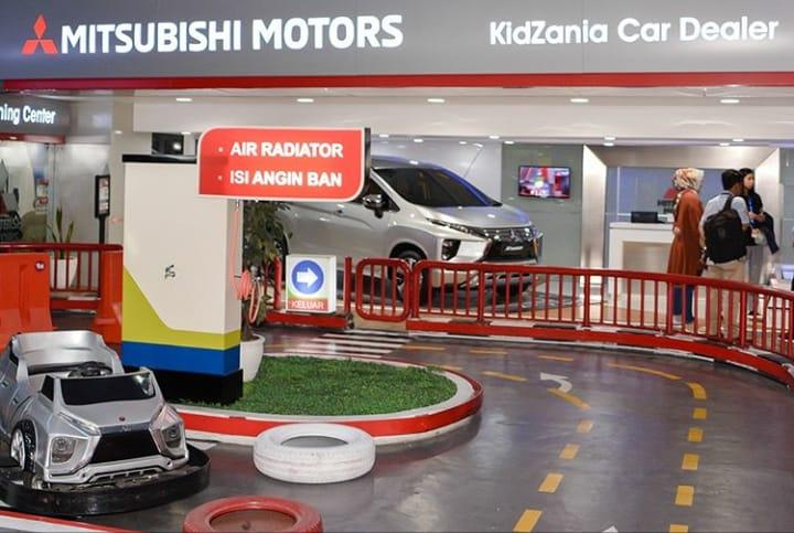 Wahana edukasi KidZania beri diskon 50  persen untuk pemilik STNK Mitsubishi. (foto: Mitsubishi)