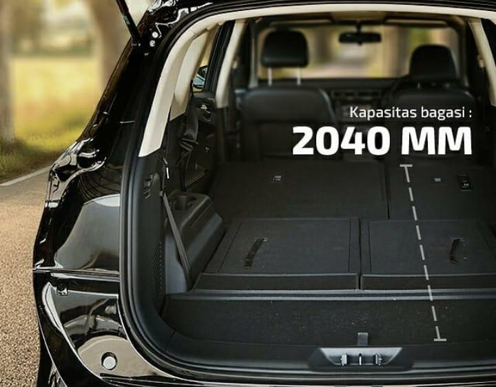DFSK Motors Indonesia tawarkan tiga kapasitas bagasi di SUV Glory 580. (foto: DFSK)