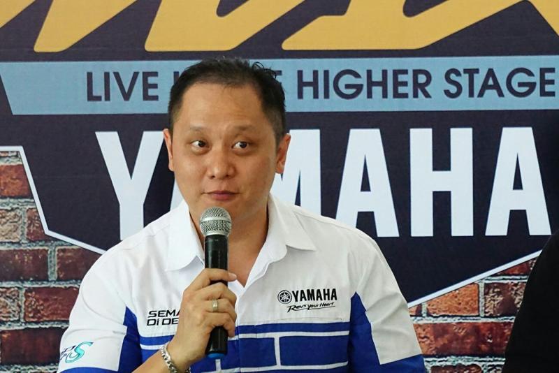 Joni Lie, bos Yamaha untuk wilayah Aceh, Riau dan Sumut. (foto : ist)