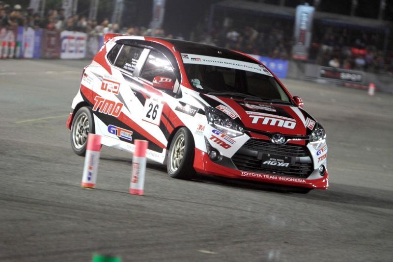 GT Radial menjadi andalan skuad Toyota Team Indnesia di ajang gymkhana. (foto : ist)