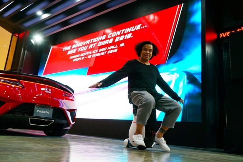 Honda UNI-CUB akan hadir lagi di Booth Honda di GIIAS 2018. (foto: HPM)