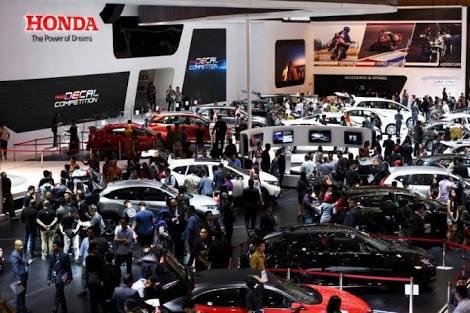 Dollar Tembus Rp 14.000, Industri Otomotif Masih Terkendali. IIMS 2018 turut berkontribusi. (foto: Honda)