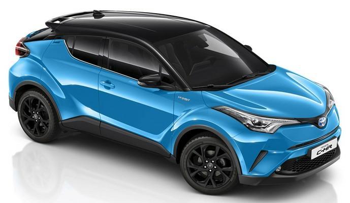 Toyota C-HR Design Edition Tampil Lebih Segar dan Dinamis. (foto: autoexpress)