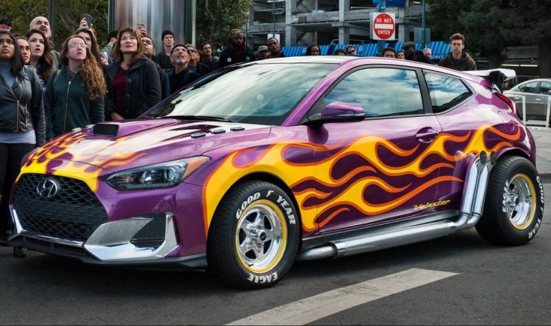 All New Hyundai Veloster jadi andalan Superhero Marvel Ant-Man. (foto: Marvel)
