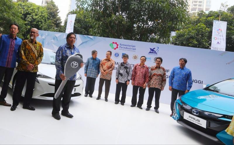 Toyota Dukung Riset Kemenperin RI Kembangkan Kendaraan Elektrifikasi.
