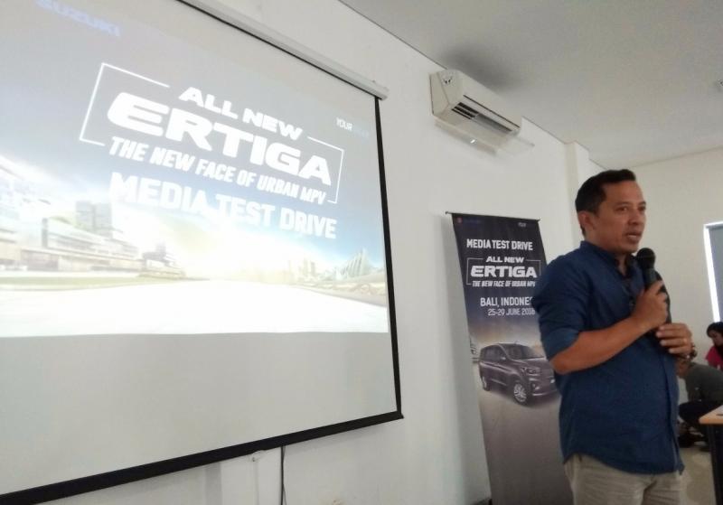 All New Suzuki Ertiga mampu dongkrak penjualan Suzuki di Bali. (foto: anto)