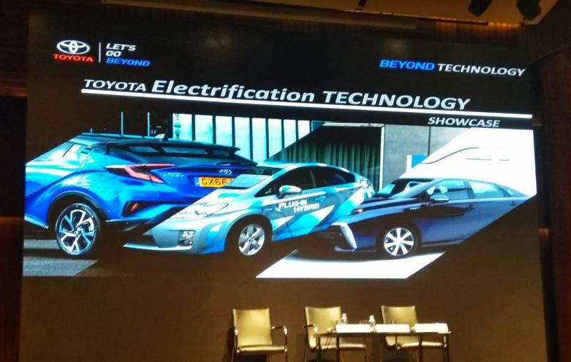 Toyota jadi paling banyak pamerkan model baru di GIIAS 2018. (foto: anto)