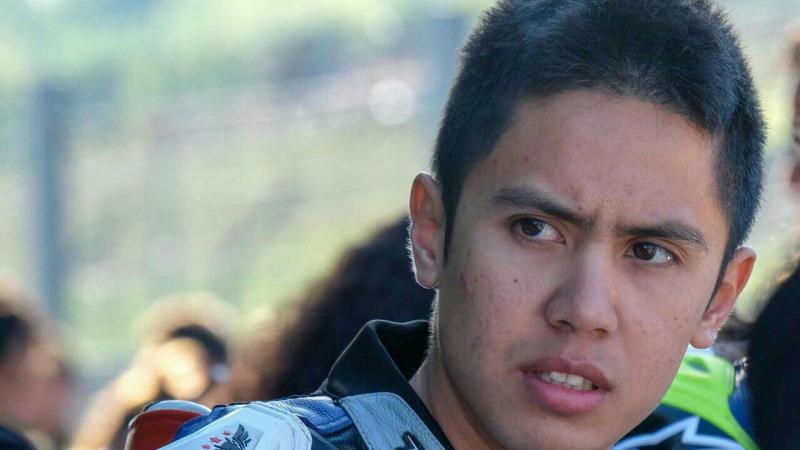 Ali Adrian mulai fokus ke seri Aragon, Spanyol. (foto : ist)
