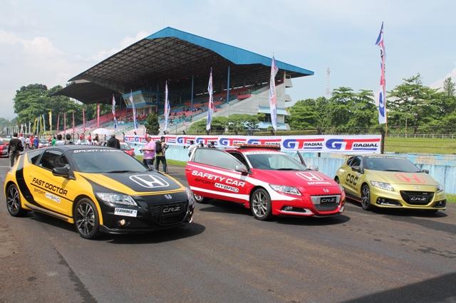 Honda Gelar Safety Driving Clinic di Sentul. (foto: ist)