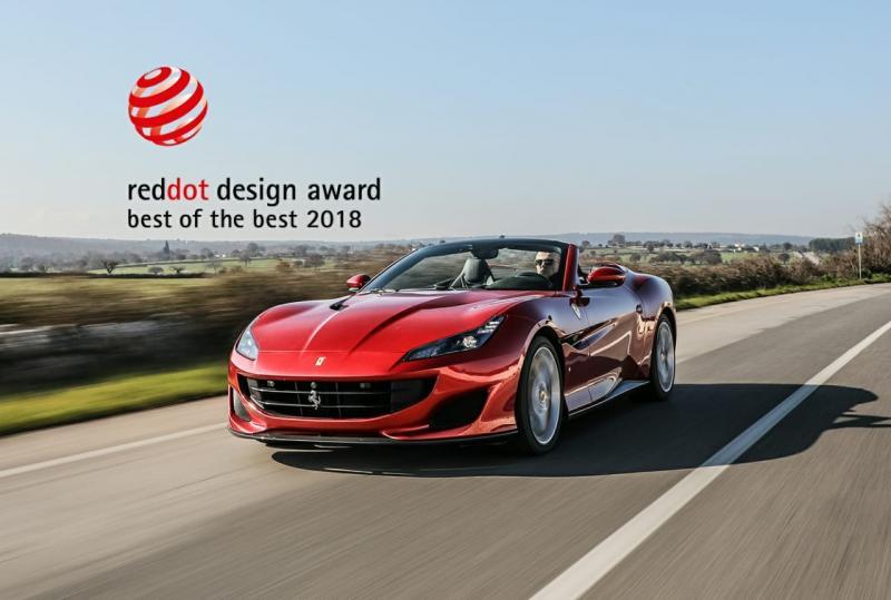 Ferrari Portofino Raih Penghargaan Desain Red Dot. (foto: Ferrari)
