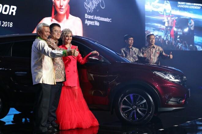 City SUV DFSK Glory 580 yang dilaunching di Jakarta, Kamis (19/7/2018) malam kemarin. (foto : ist)