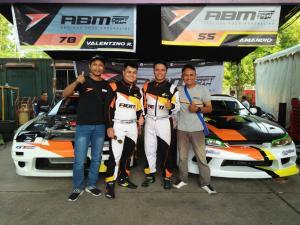 Adwitya Amandio dan Valentino Ratulangi, skuad ABM Drift Team tahun lalu (foto : ist)