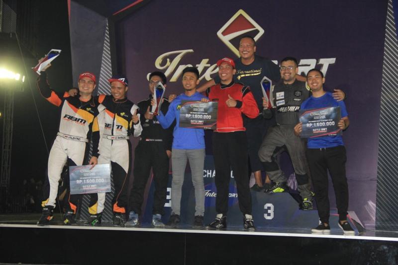 Kejurnas drift 2018 seri 2 hadirkan juara baru