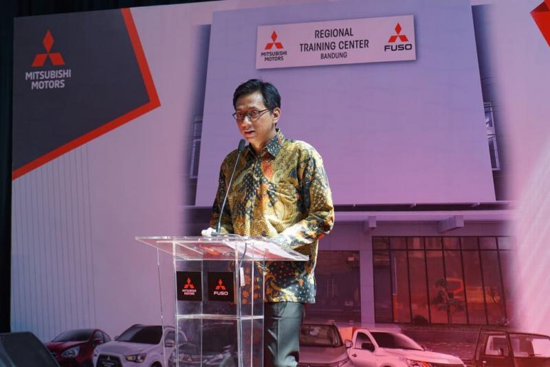 Mitsubishi kembali resmikan Regional Training Center baru. (foto: ist)