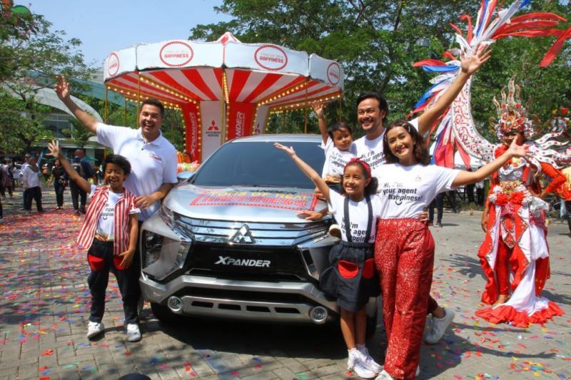 Mitsubishi Xpander Tons of Real Happiness berlangsung di Mal Summarecon Bekasi. (foto: ist)