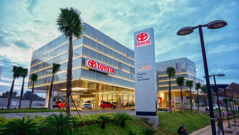 Dealer Auto2000, sudah waktunya beli mobil baru Toyota dengan cicilan rendah. (foto : auto2000)