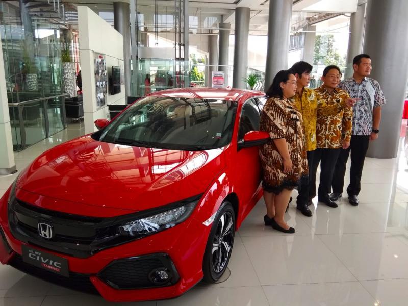 Honda Nusantara MT Haryono jadi dealer pertama dan terbesar bagi Nusantara Group. (foto: anto)
