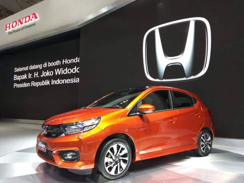All New Honda Brio resmi diluncurkan di GIIAS 2018 tanpa harga. (foto: anto)