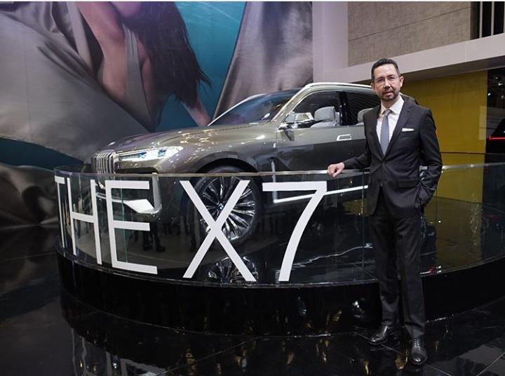 Ramesh, BMW Concept X7 iPerformance akan menambah lini produk SUV BMW di Indonesia. (foto: anto)