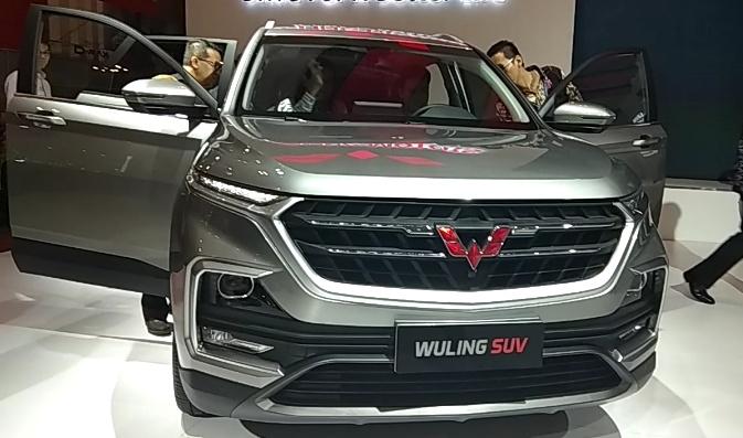 Almaz yang berarti berlian akan jadi nama SUV baru Wuling di Indonesia. (foto: anto)