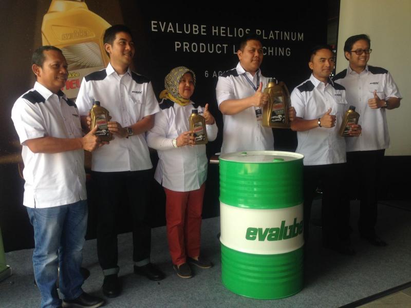 Peluncuran Evalube Helios Platinum di GIIAS 2018