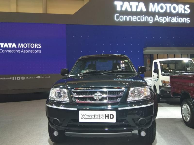 Truk Tata Motors penjualannya melejit 200 persen di GIIAS 2018. (foto: anto)