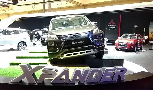 Mitsubishi Xpander paling banyak mengumpulkan penjualan di segmen MPV. (foto: anto)