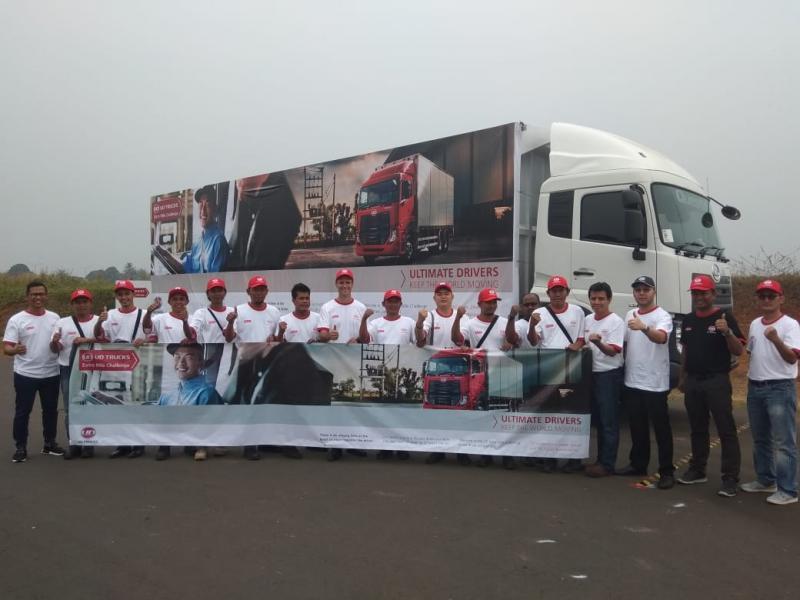 UD Trucks untuk ketiga kalinya adakan kompetisi pengemudi Going The Extra Mile di Indonesia. (foto: anto)