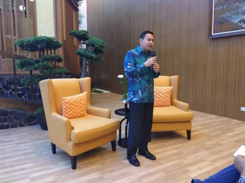 Adrian Tirtadjaja, penjualan Lexus di Indonesia sedang naik. (foto: anto)