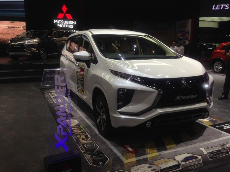 Xpander masih jadi andalan Mitsubishi di GIIAS 2018 (foto: adri)