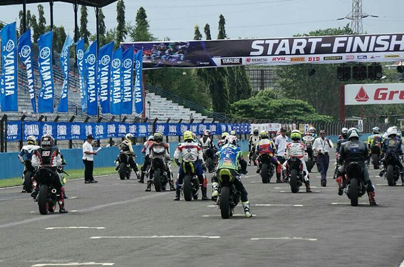 Event Yamaha Sunday Race seri 1 rencananya 4-5 April 2020 di Sentul International Circuit juga ditunda. (foto : ist)