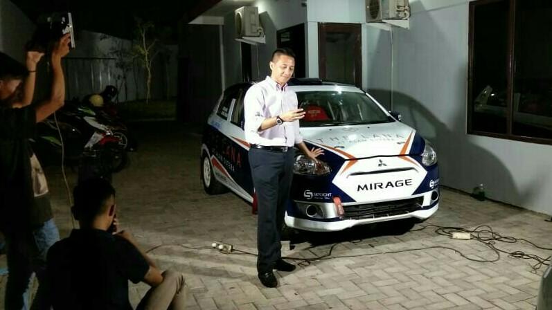 Ario Danu, ingin menjadi influencer anak muda menyukai motorsport. (foto : ist)