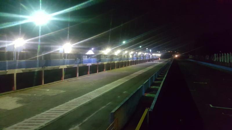 Sirkuit Sentul pasang lampu penerangan untuk persiapan ISSOM Night Race