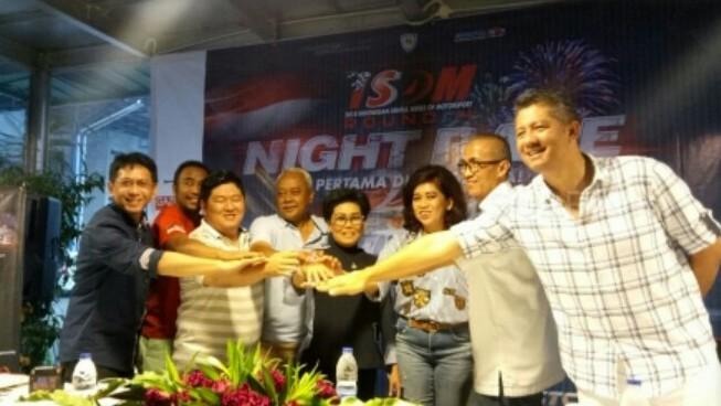 Preskon dan peluncuran Night Race ISSOM 2018. (foto : suara)