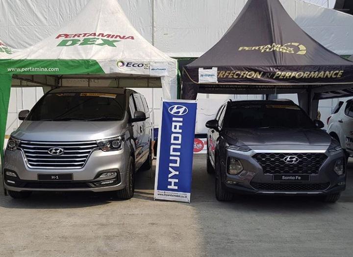 Hyundai hadirkan Full Line-up kendaraan standar global di GIIAS 2018, dua model terbaru bisa dicoba. (foto: Hyundai)