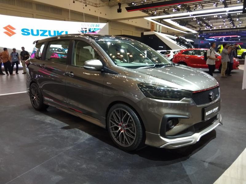 All New Suzuki Ertiga mampu merebut hati penggemar MPV di GIIAS 2018. (foto: anto)