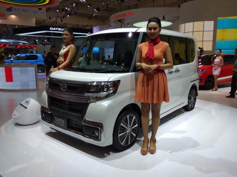 Daihatsu Belum Bosan Tampilkan Kei-car (lagi) di GIIAS 2018. (foto: anto)