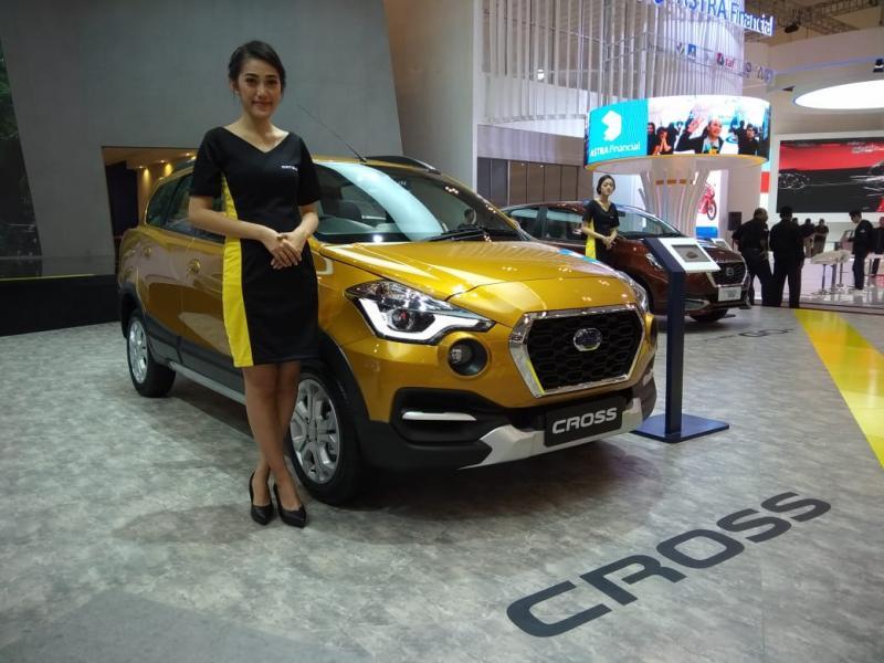 Datsun CROSS dengan teknologi canggih semakin kekinian. (foto: anto)
