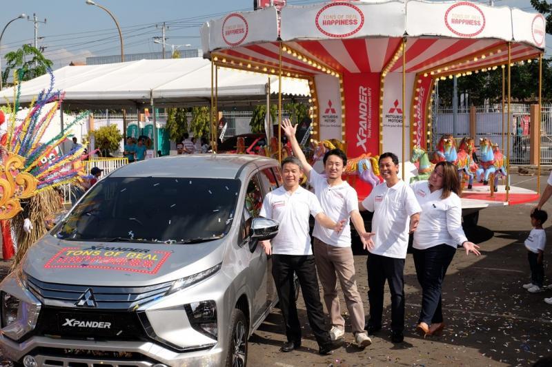 Mitsubishi Xpander Tons of Real Happiness hadir di Kota Semarang. (foto: ist)
