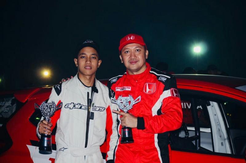 Juara Master dan Juara Rising Star ITCC 1600 Max. (foto : BS)