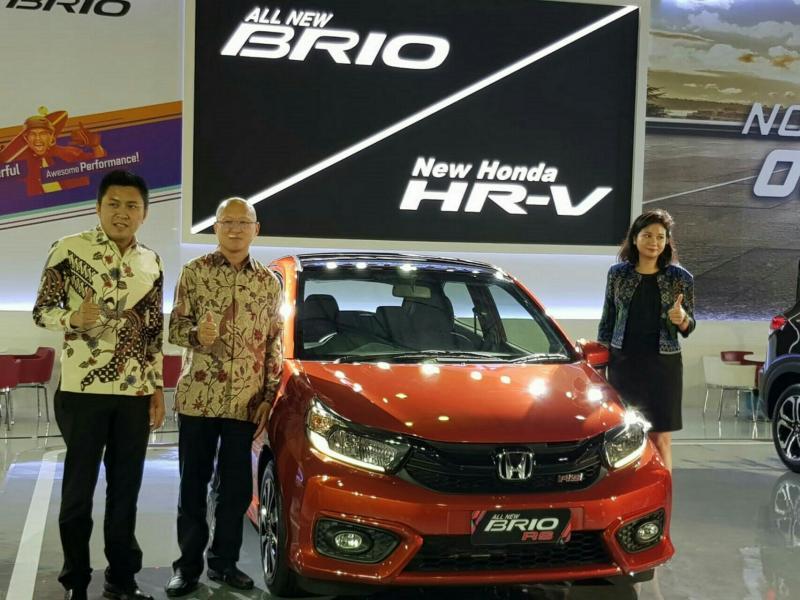 Booth Honda di GIIAS Makassar 2018. (foto : HPM)