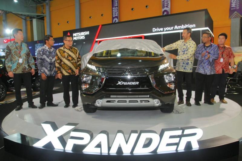 Mitsubishi Xpander kembali hadir di Kota Makassar di ajang GIIAS 2018. (foto: ist)